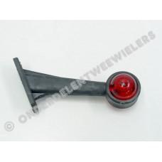 Breedtelamp rubber op steel 45° 190 MM R/W E-KEUR