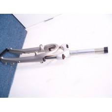 Zoom instelbare verende voorvork 28 inch aluminium (mat)